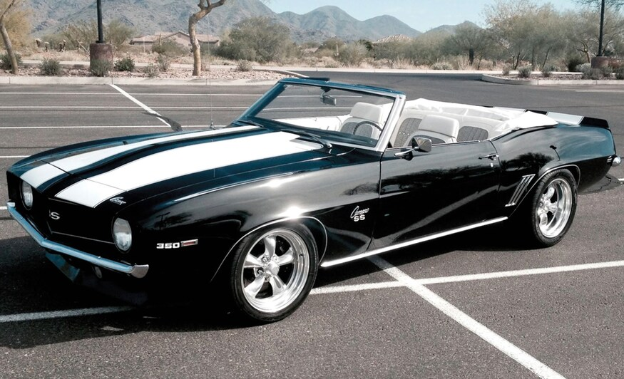 """1967 Camaro RS/SS convertible with an LS3 """"hot cam"""" crate engine backed by a six…"""