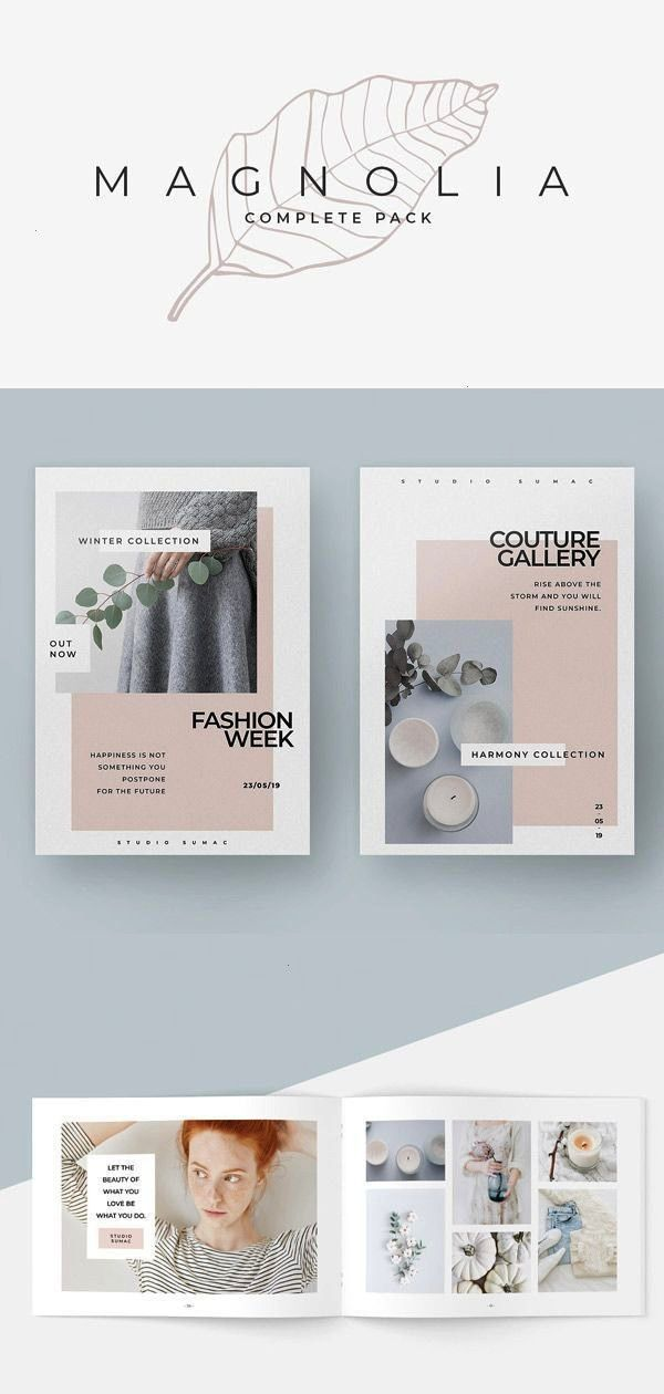 TemplatesMagnolia Complete Pack by studiosumac in Presentations   Presentation TemplatesMagnolia Complete Pack by studiosumac in Presentations    Mint Multipurpose Trifol...