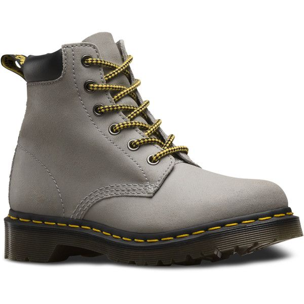 Dr. Martens 939 Suede Short Lace-Up Low Boot ($125) ❤ liked