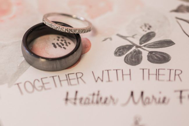 Rings & wedding invites | Sarah Renee Studios | see more at http://fabyoubliss.com