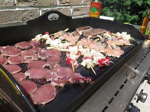 Mes ptites recettes pour la première plancha de la saison 25 volaille 24 viande