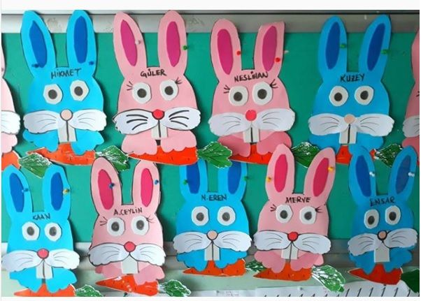 Easter bunny craft idea for kids | Crafts and Worksheets for ...