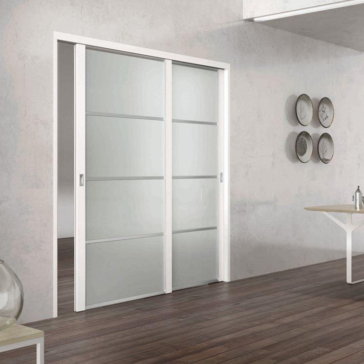 Porte vetro scorrevoli porte per interni soluzioni casa for Porte scorrevoli in vetro prezzi