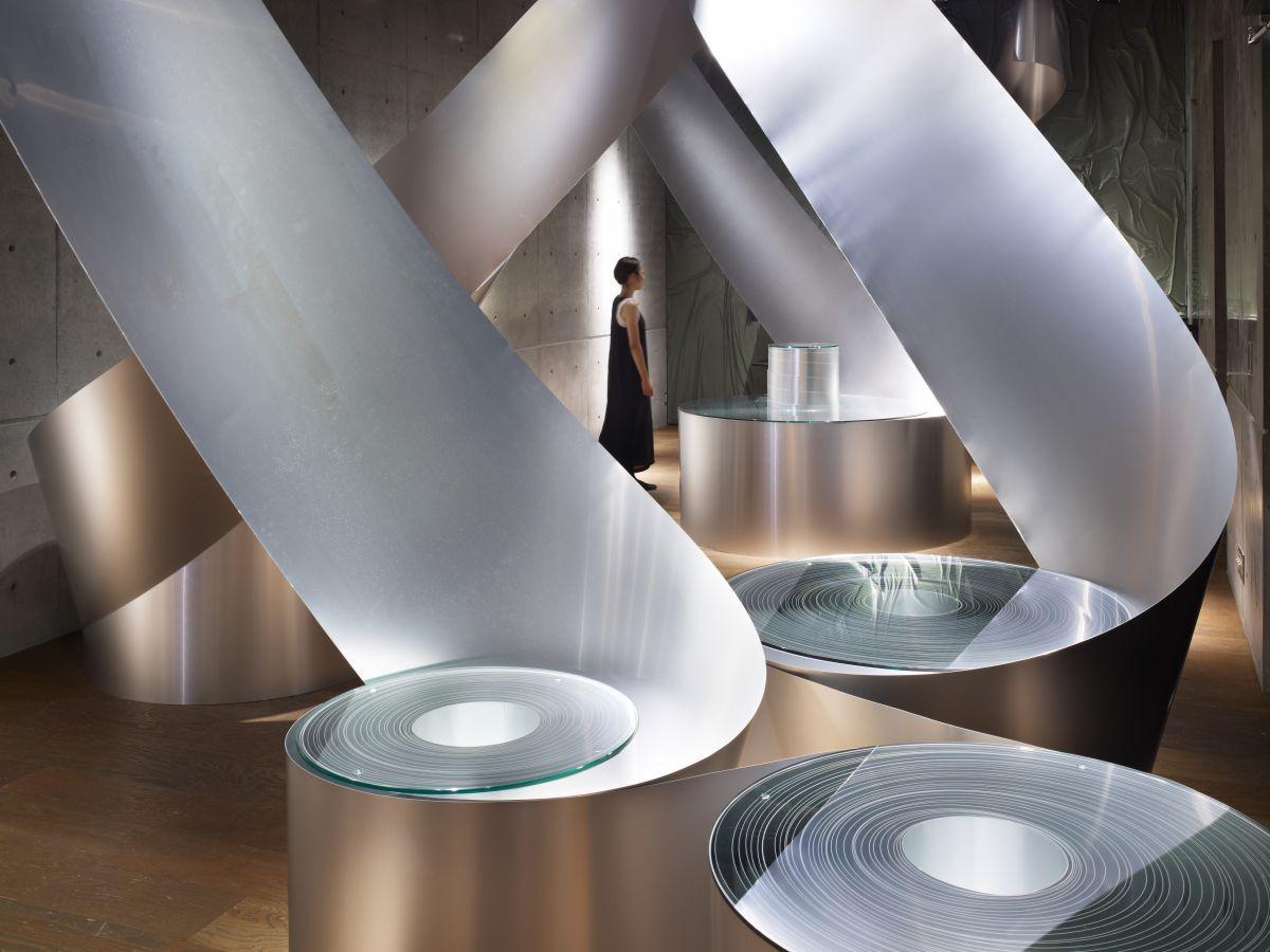 Diesel Denim Gallery Aoyama In Tokyo Interior Rolls By Sinato
