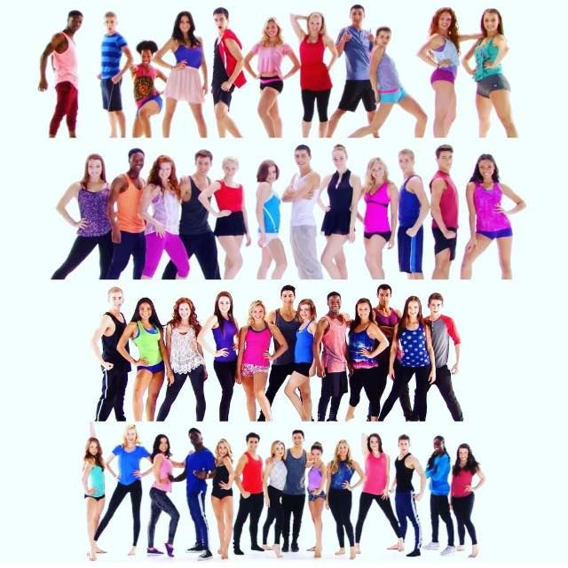 All 1 4 Characters Of Tns The Next Step Dance Steps Seventeen Magazine