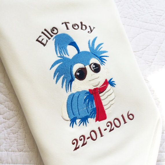 4f5e097ec Labyrinth worm baby cot blanket by Jellibabies1 on Etsy | Baby ...