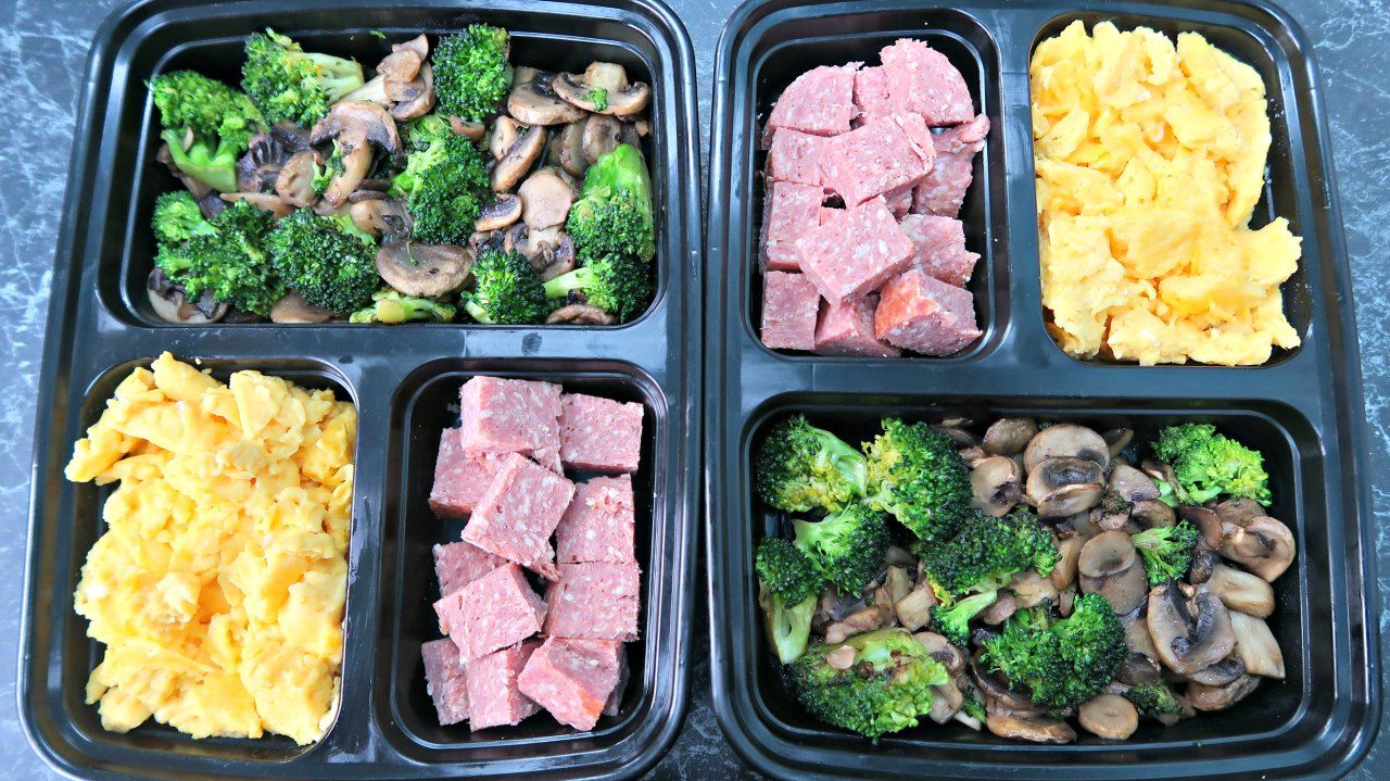 keto breakfast meal prep ideas - easy low carb ketogenic diet