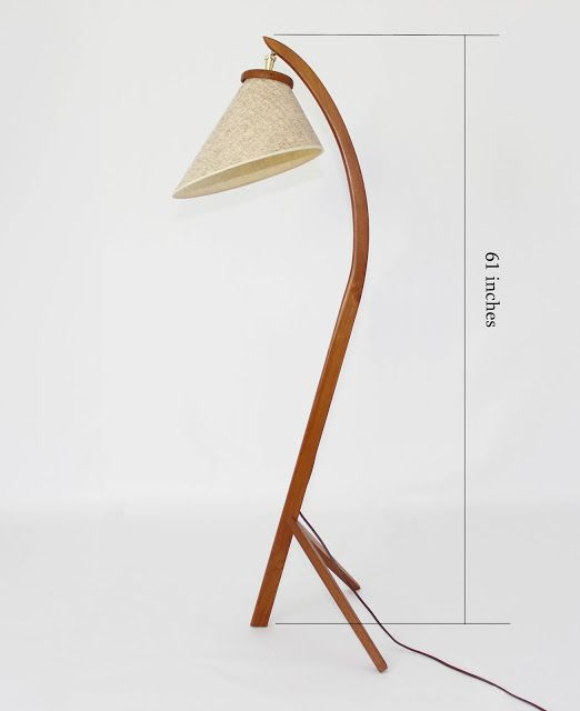 Mansion Decor: Mid Century Danish teak Bow Floor Lamp   Mid century ...