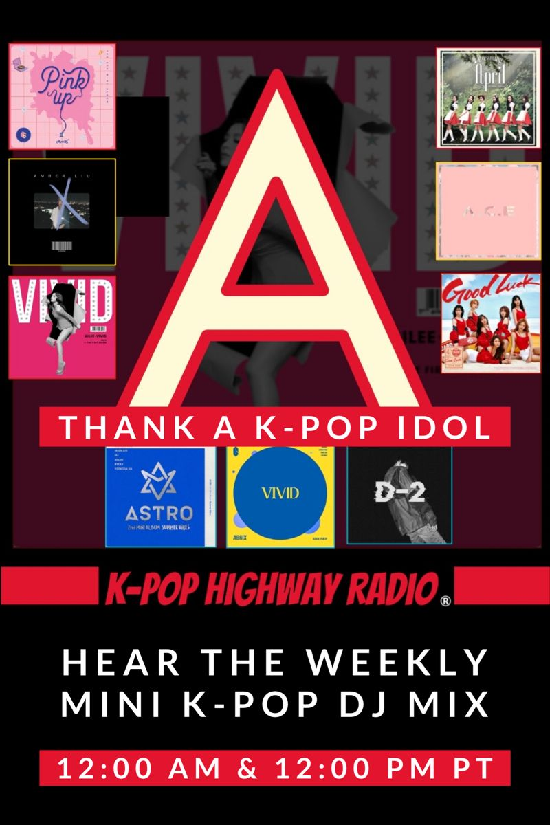 Thank Your Fave Kpop Idol Kpop Radio K Pop Star