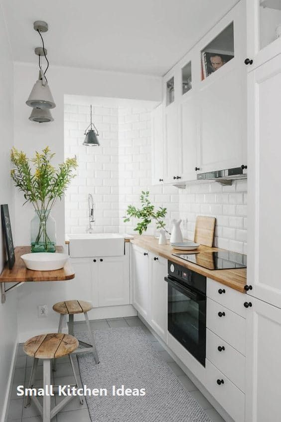 New Small Kitchen Decoration Smallkitchen Amenagement Petite