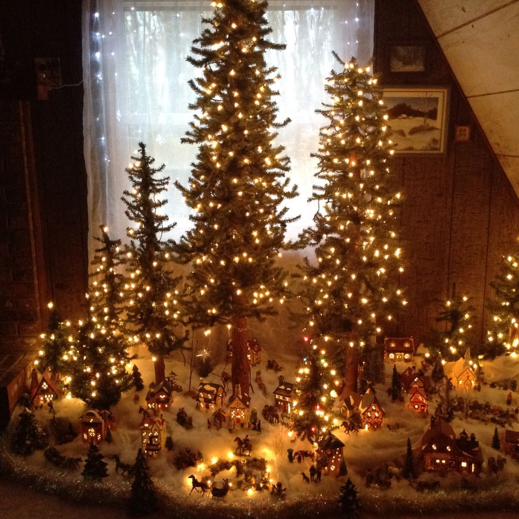 Winter Village … Christmas village display, Diy