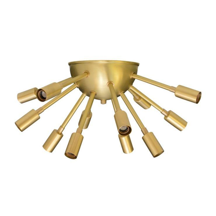 Sputnik Flush Mount Light | Flush mount chandelier, Mid-century ...