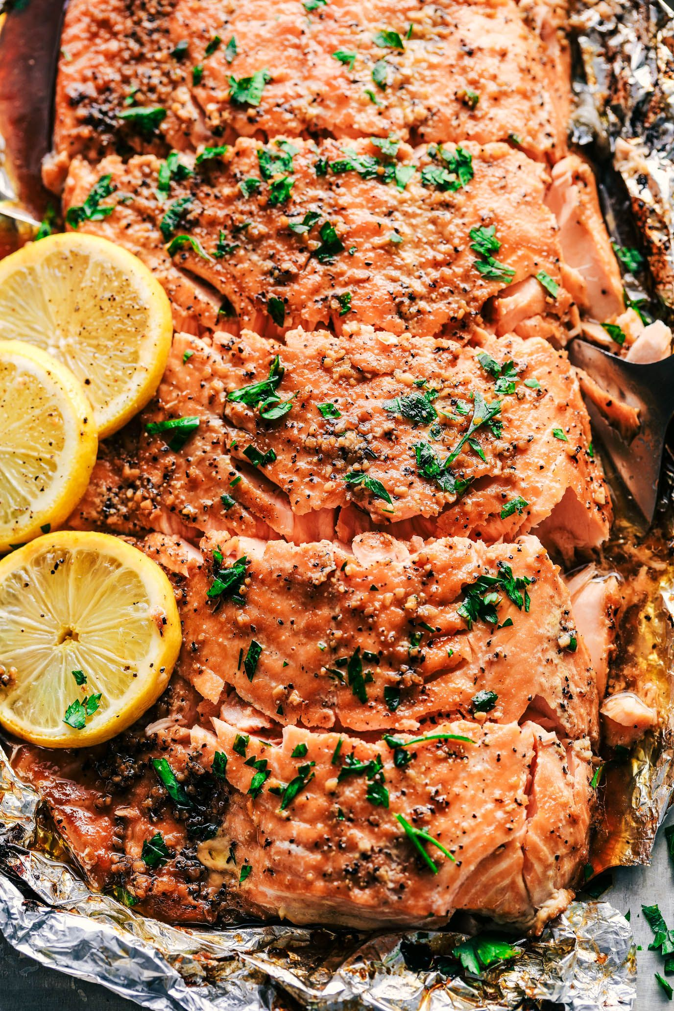 Photo of Garlic Brown Sugar Glazed Salmon (The Best Salmon Ever!) | The Recipe Critic