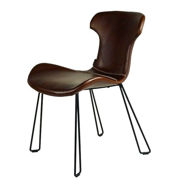 Lederstuhl esszimmer for Lederstuhl schwarz esszimmer