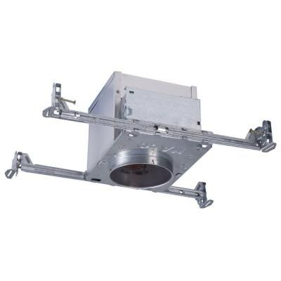 Halo 4 in aluminum recessed lighting led t24 new construction ic aluminum recessed lighting led t24 new construction ic air tite housing aloadofball Image collections