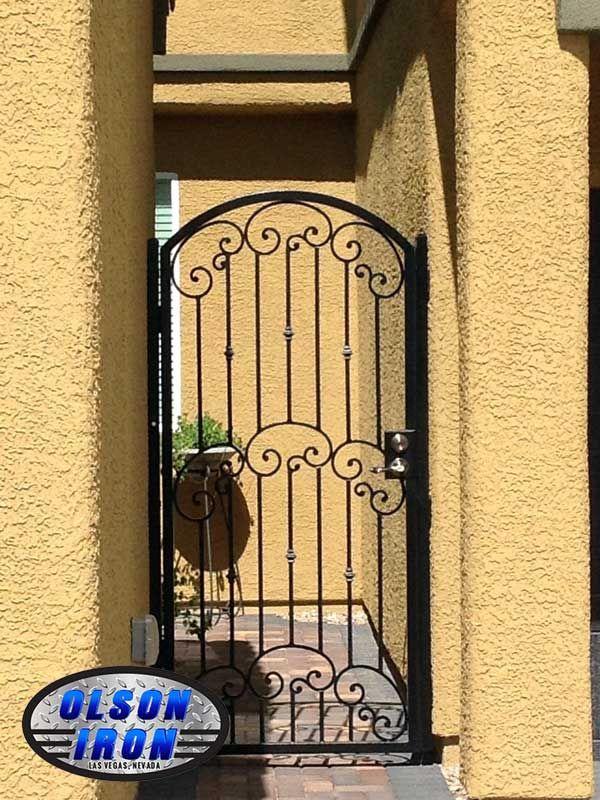Las Vegas Iron Courtyard Entry Gates Iron Courtyard Entries