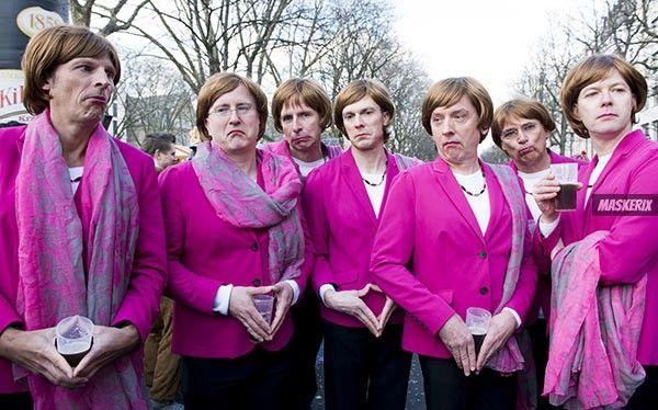 Angela Merkel Kostüm selber machen -