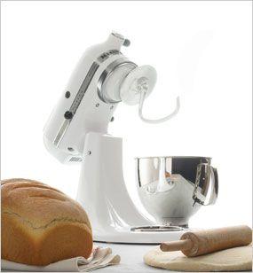 Traditional White Bread | KitchenAid Stand Mixer recipe ...