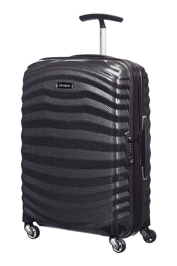 Maleta equipaje de mano Samsonite Lite-Shock en color Negro