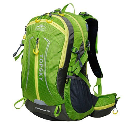 5f42f31926d1 Topsky Outdoor Hiking Clycling Backpack Waterproof 40L Unisex ...