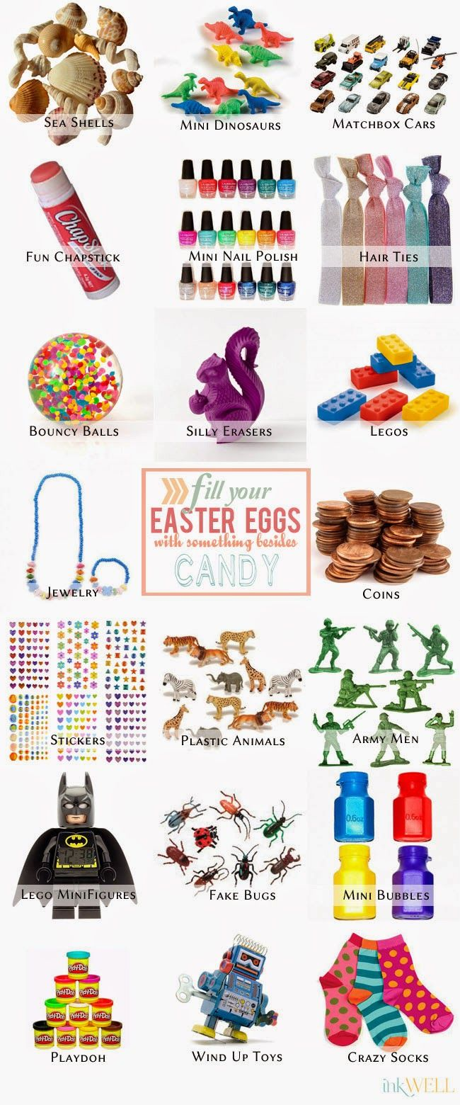 easter egg fillers… other than candy | easter egg/ basket filler