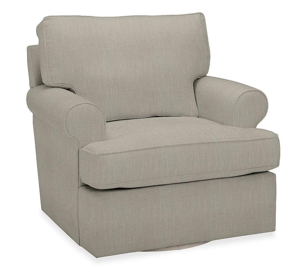 Astonishing Buchanan Roll Arm Upholstered Swivel Armchair Polyester Unemploymentrelief Wooden Chair Designs For Living Room Unemploymentrelieforg