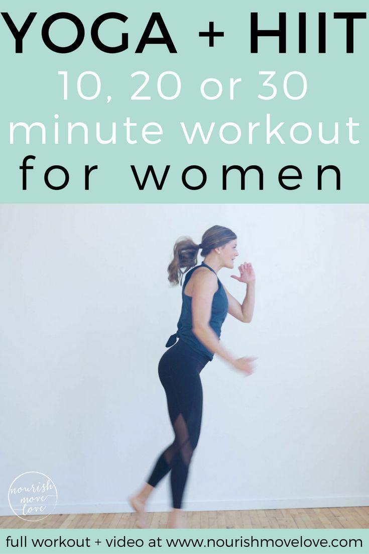 Yoga HIIT Workout With Athleta