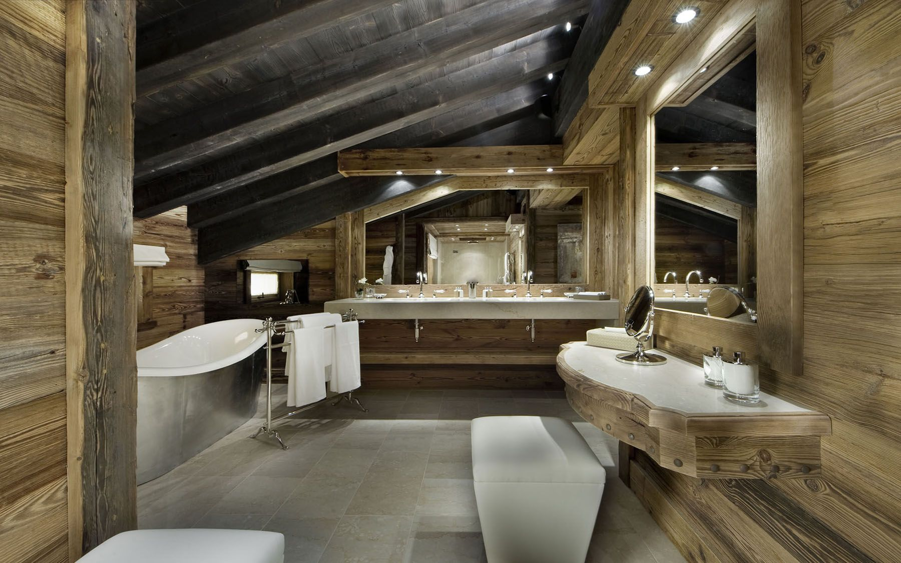Rustic Elegant Bathroom | Notre chalet | Pinterest | Nightclub ...
