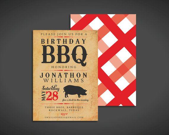 bbq invite