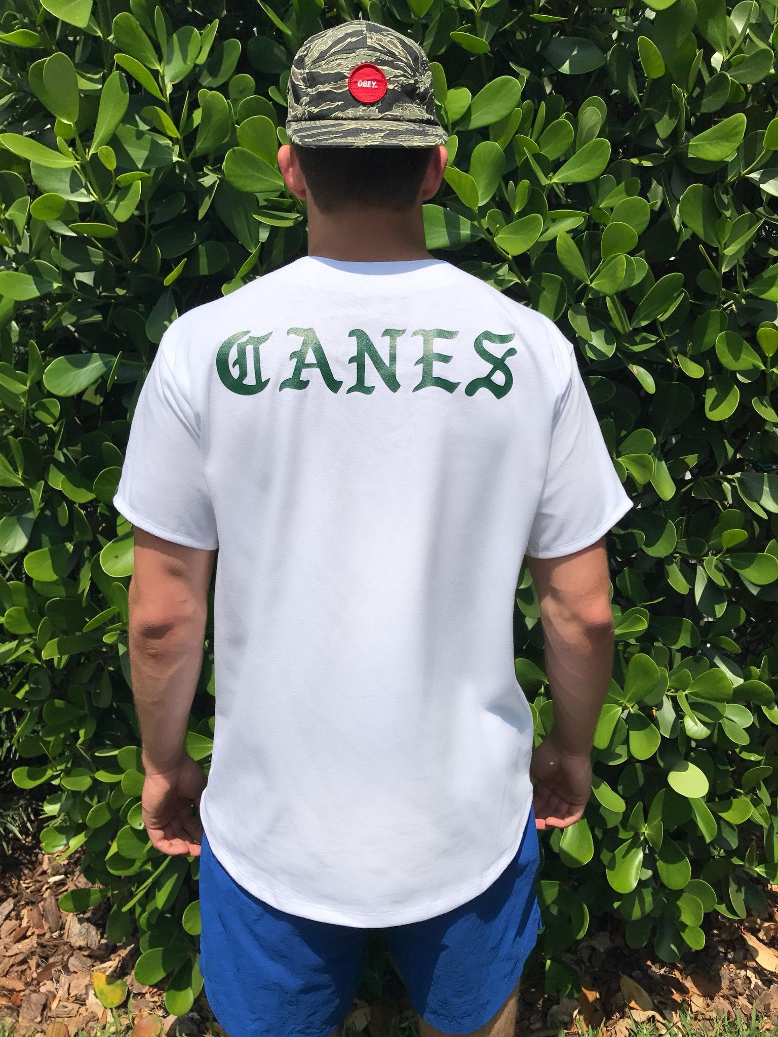 Design your own t-shirt miami - Miami Canes Baseball Jersey
