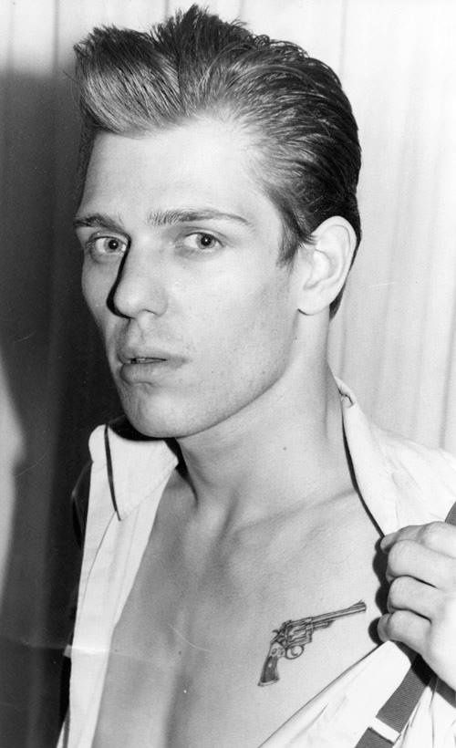 "Paul Simonon from ""The Clash"""