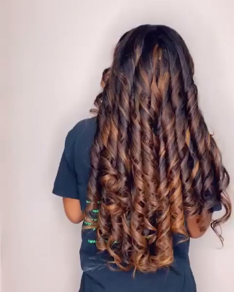 what a beautiful Wave hair