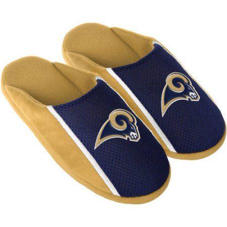 f3dca7736861 Los Angeles Rams Men s Jersey Slide Slipper