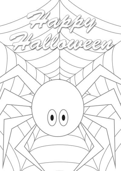 Free Printable Halloween Color Cards | Free Printable Holiday Cards ...