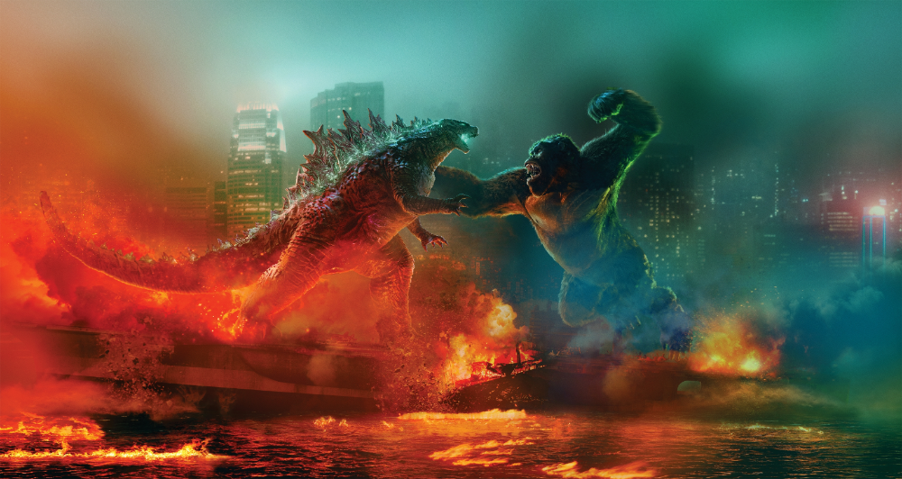 Godzilla Vs Kong New International Textless Poster By Rohitsehrawat On Deviantart In 2021 King Kong Vs Godzilla Godzilla Vs Godzilla