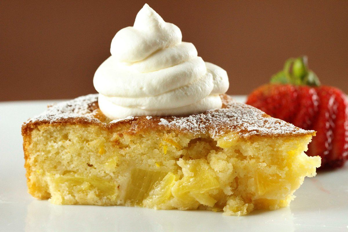 Pineapple Butter Cake | A Culinary Journey With Chef Dennis