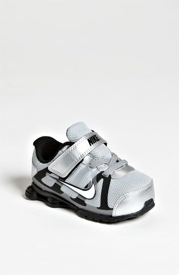 Kaiden should havr these shoes! Nike 'Shox Roadster' Running Shoe (Baby,  Walker & Toddler) available at Nordstrom