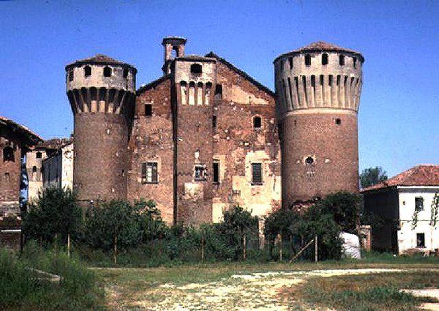 Valeggio, Pavia, il Castello