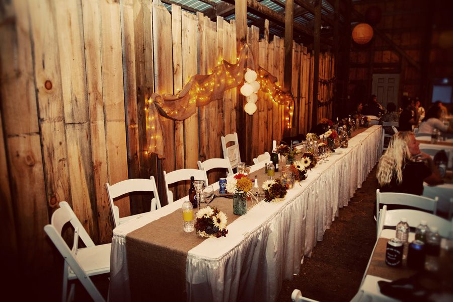 Minnesota DIY Farm Wedding Mantel, Boda y Recetas