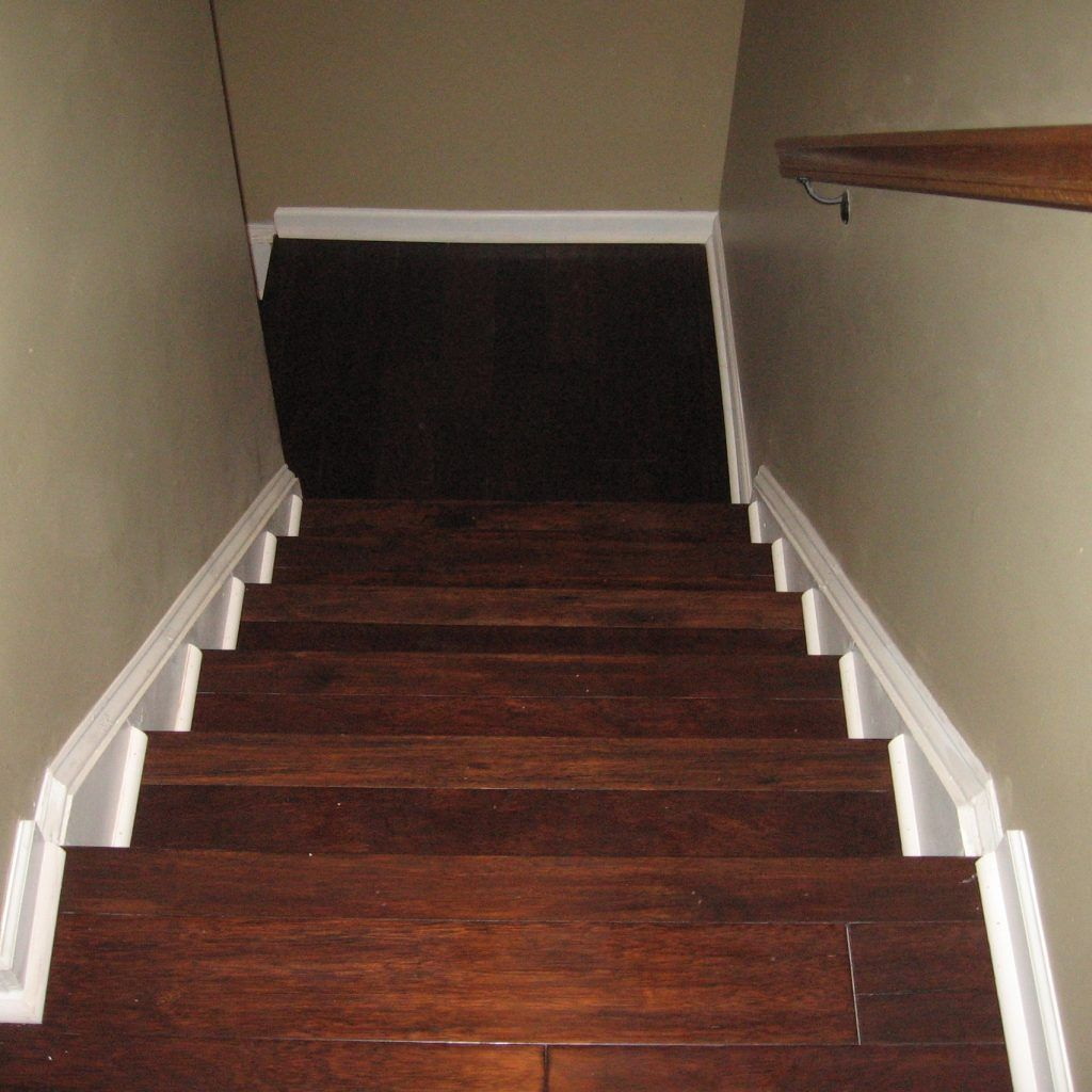 Best Laying Engineered Wood Flooring On Stairs Wood Stair 400 x 300