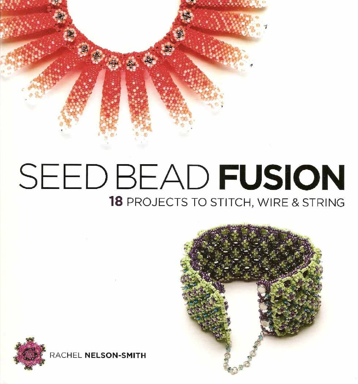 See Bead Fusion   Beads, Stitch and Bead weaving
