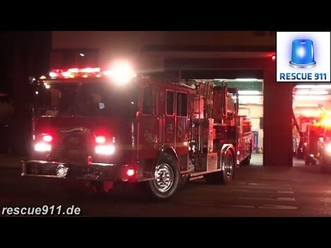 LACoFD] Light Force 8 + Squad 8 + Engine 8 Los Angeles County Fire