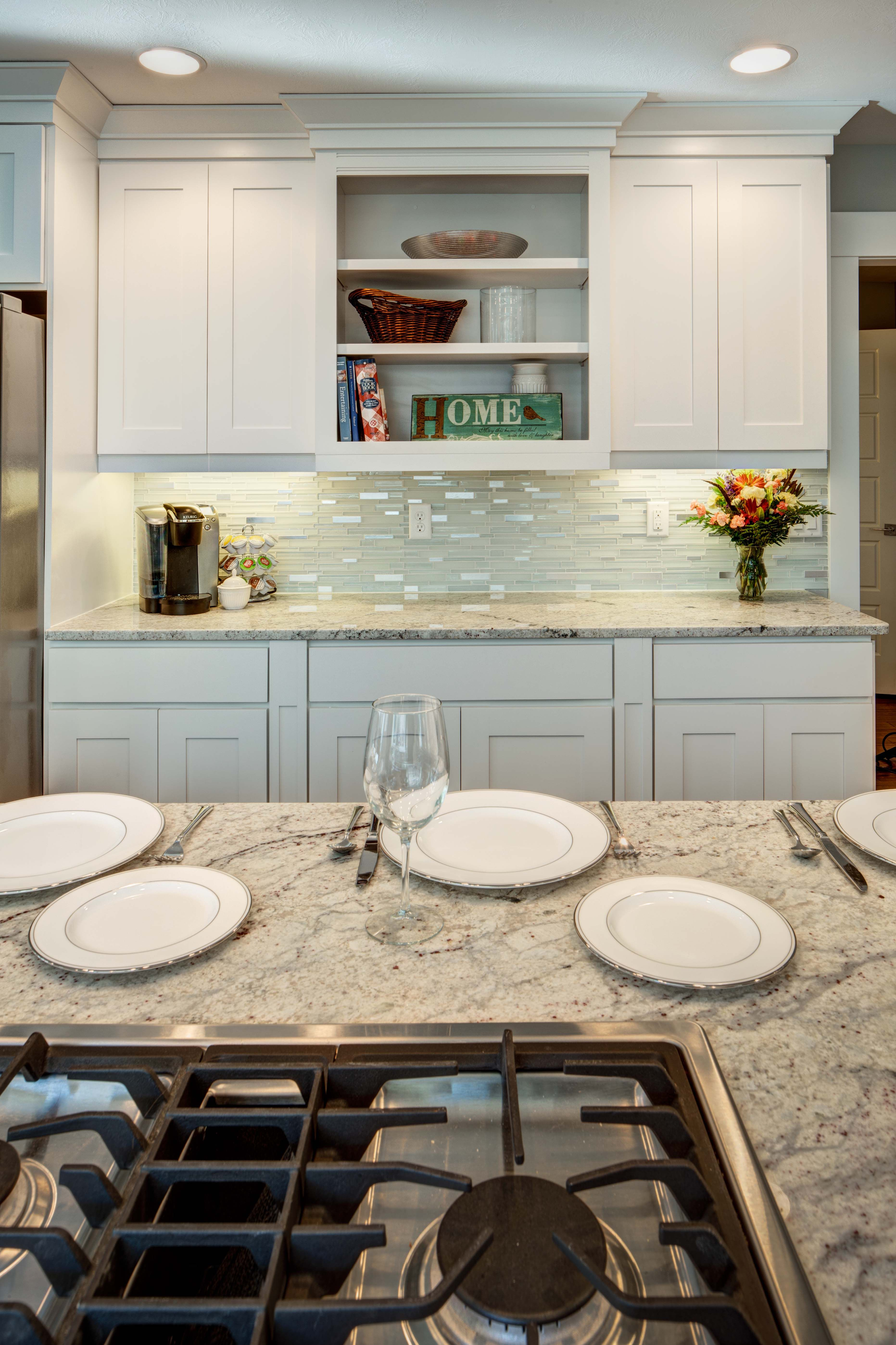 crown cabinets bigcreek maple designer white contemporary kitchen on kitchen cabinets not white id=12665