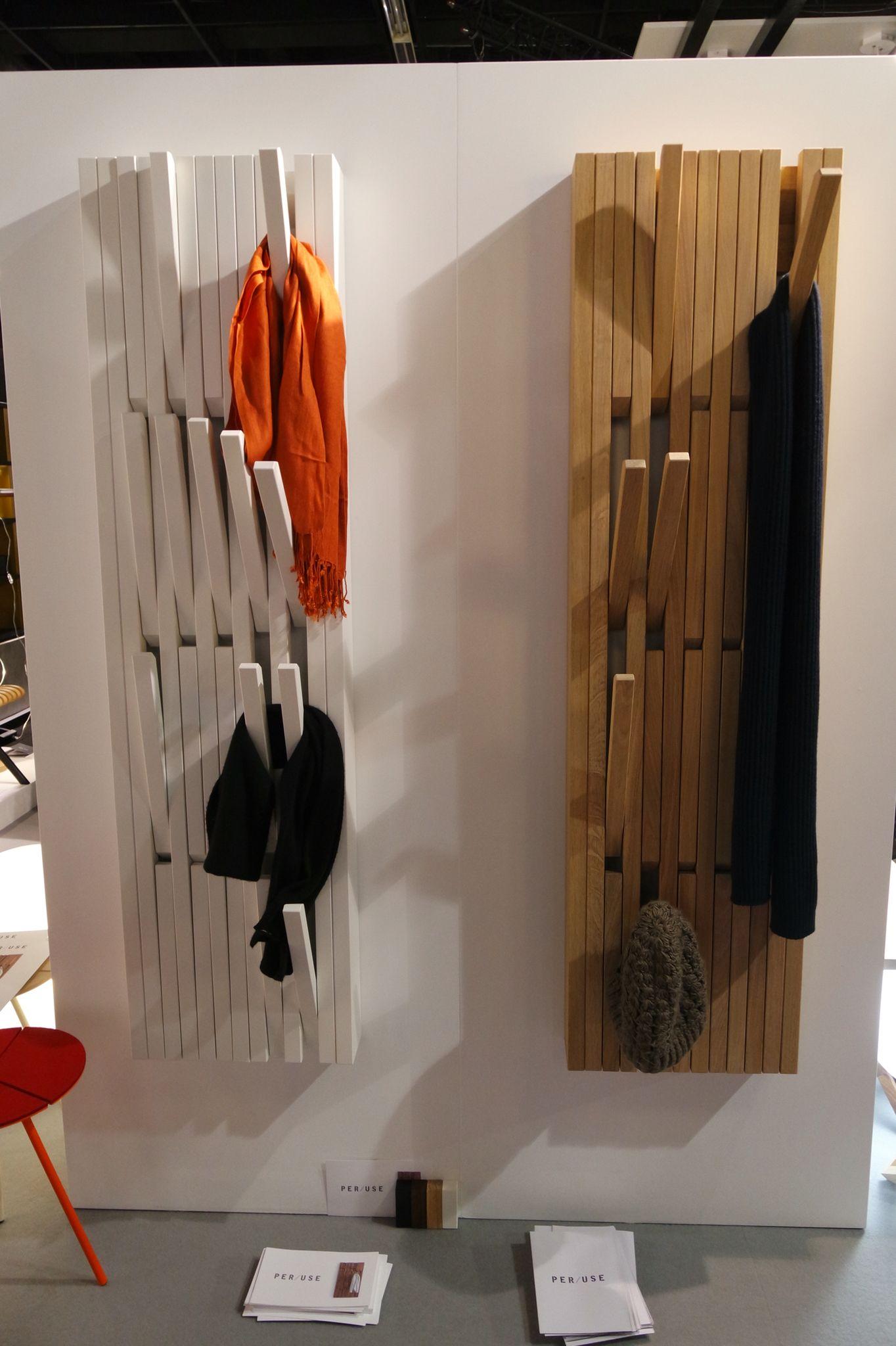 garderobe der firma per use imm cologne 2016 pinterest coat racks and organizing. Black Bedroom Furniture Sets. Home Design Ideas