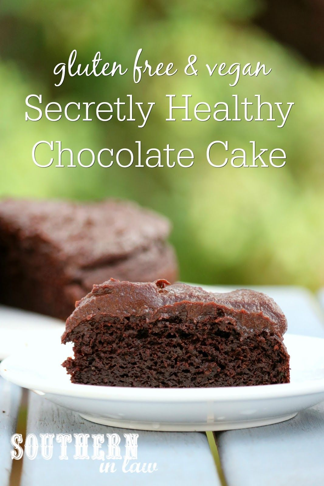 Recipe Secretly Healthy Chocolate Cake Gluten Free Vegan