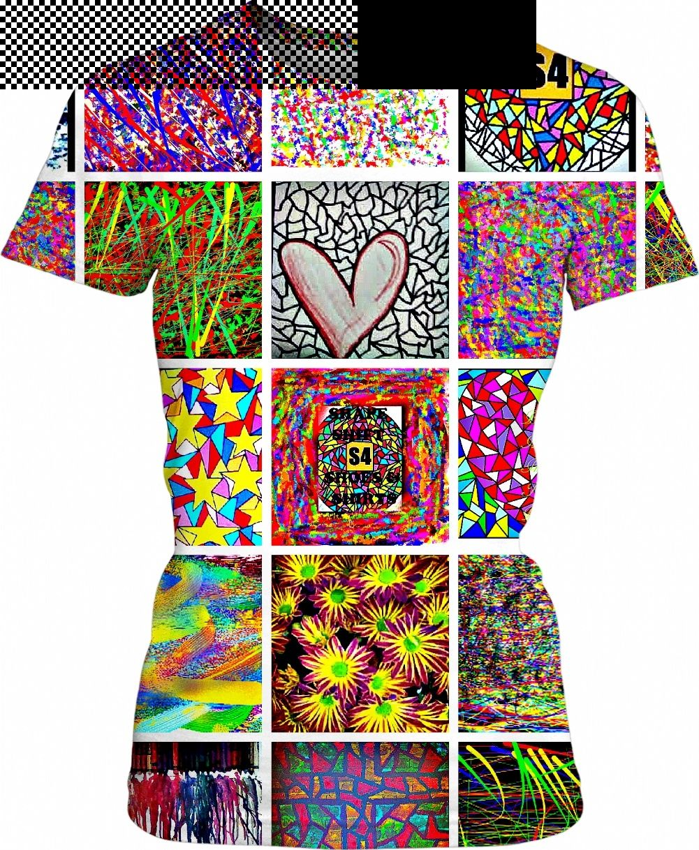 S4 Sampler Art Collage Custom Women's TShirt by S4rasota Clothing Design Co is part of Clothes Art Collage - S4 Sampler Art Collage Custom Women's TShirt by S4rasota Clothing Design Co  with collage of many different images all image rights reserved by us  with collage of images owned copyrighted produced by us