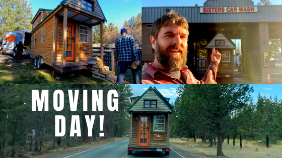 Ever wondered what goes into a tiny house moving day? In our latest video, we share behind-the-scenes of our most recent move.  #tinyhouse #tinyhouseonwheels #tinyhouseparking #tinyhouseideas