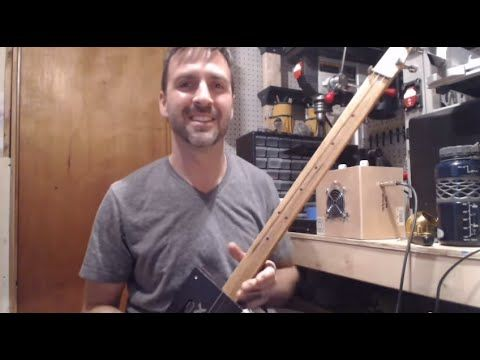 how to install a piezo pickup in your cigar box guitar youtube cigar box guitar box guitar. Black Bedroom Furniture Sets. Home Design Ideas