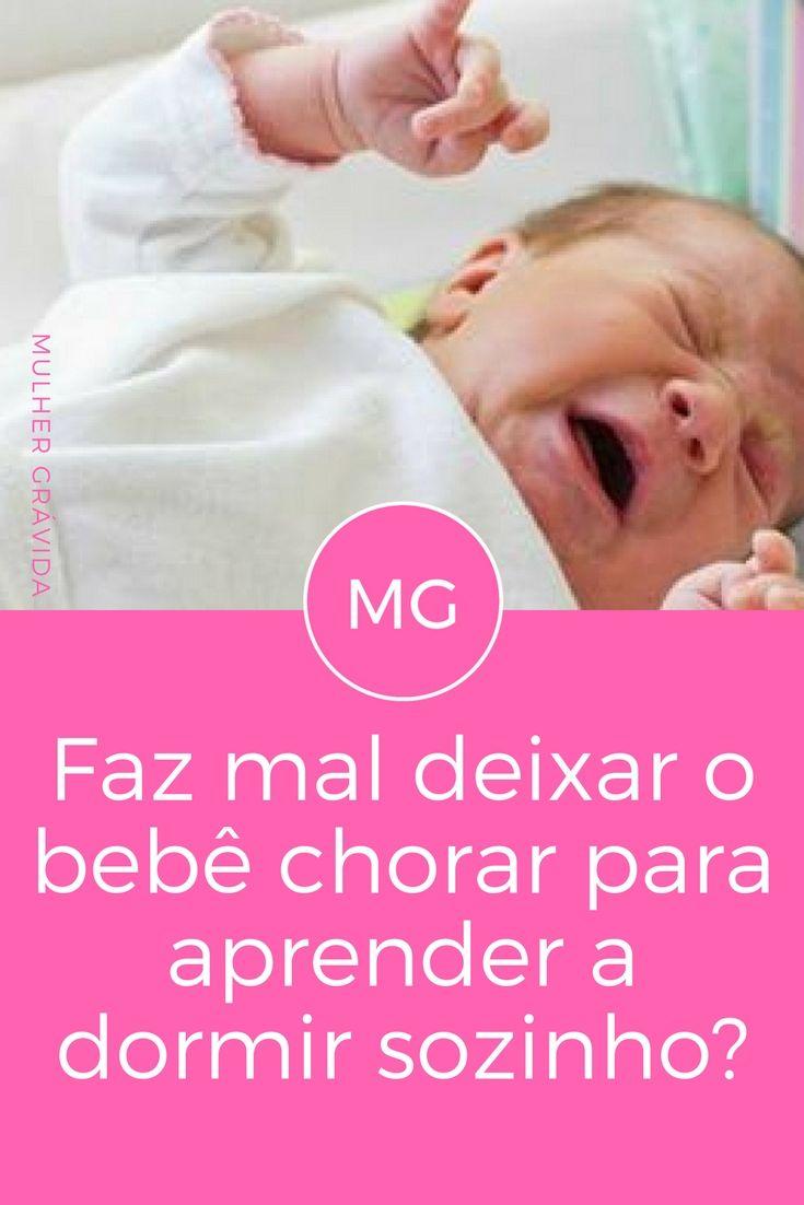 Bebê chora | Faz mal deixar o bebê chorar para aprender a dormir sozinho? | Deixar o bebê chorar para aprender a dormir é ruim? Veja a resposta: