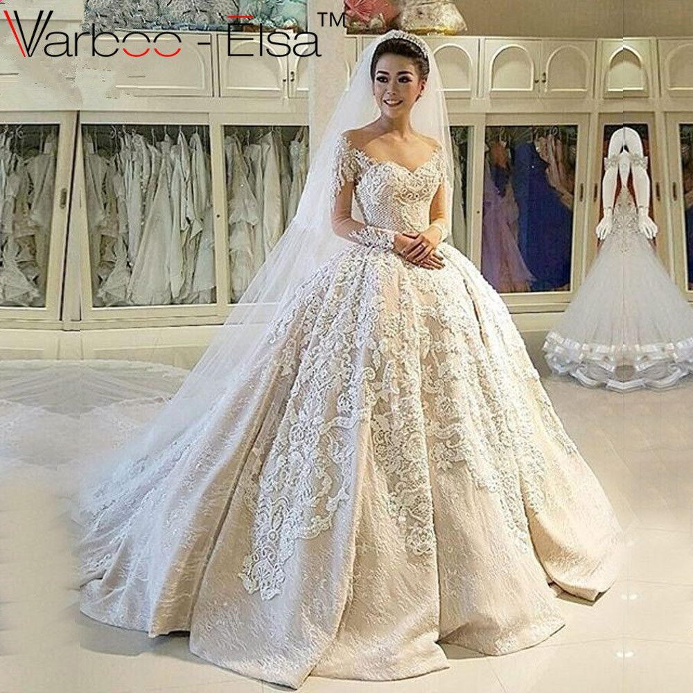 Retro wedding dress  Off The Shoulder Wedding Dress  Muslim wedding dresses Wedding